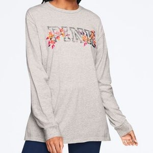 VS Pink Bing Long Sleeve Tee